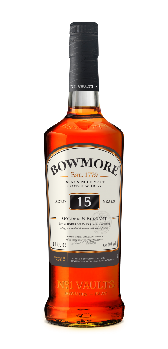 Image result for bowmore 15 travel retail